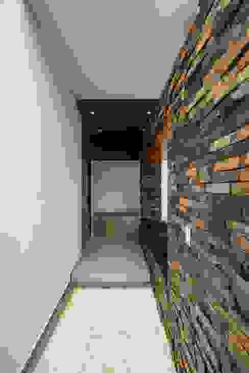 Minimalistyczne domy od ROKA Arquitectos Minimalistyczny Ceramiczny