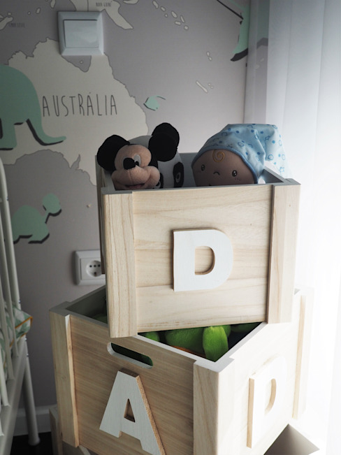 Nursery/kid's room by Lethes House, Modern Wood Wood effect