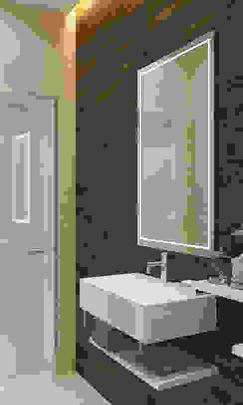 Туалет Ванная комната в эклектичном стиле от Бюро9 - Екатерина Ялалтынова Эклектичный