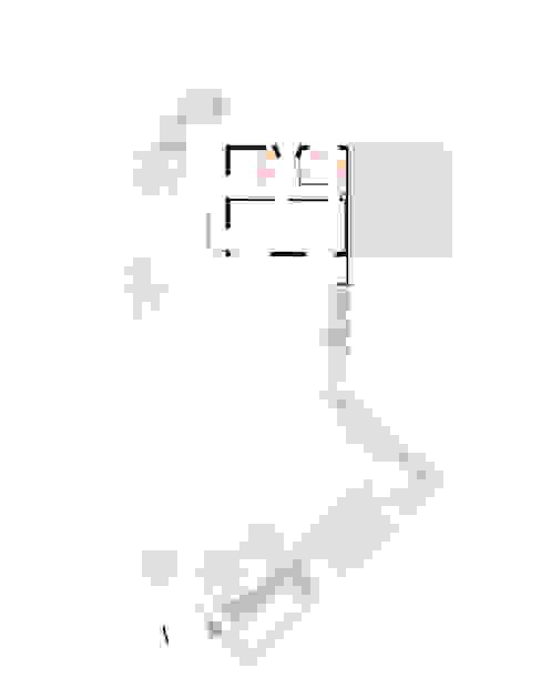 Erdgeschoss mit Umgebung Beat Nievergelt GmbH Architekt