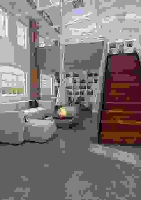 Endüstriyel Oturma Odası Sani-bouw Endüstriyel Mozaik