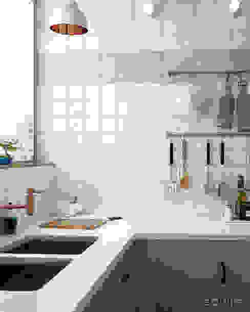 Modern Kitchen by Equipe Ceramicas Modern Ceramic