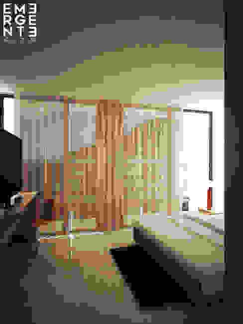 MASTER SUITE Hoteles de estilo minimalista de homify Minimalista Piedra