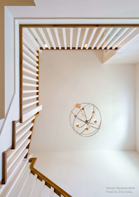 Modern Corridor, Hallway and Staircase by Chibi Moku Architectural Films Modern Concrete