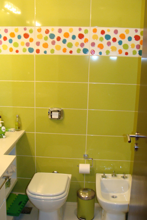 Baños de estilo  por Prece Arquitectura, Moderno