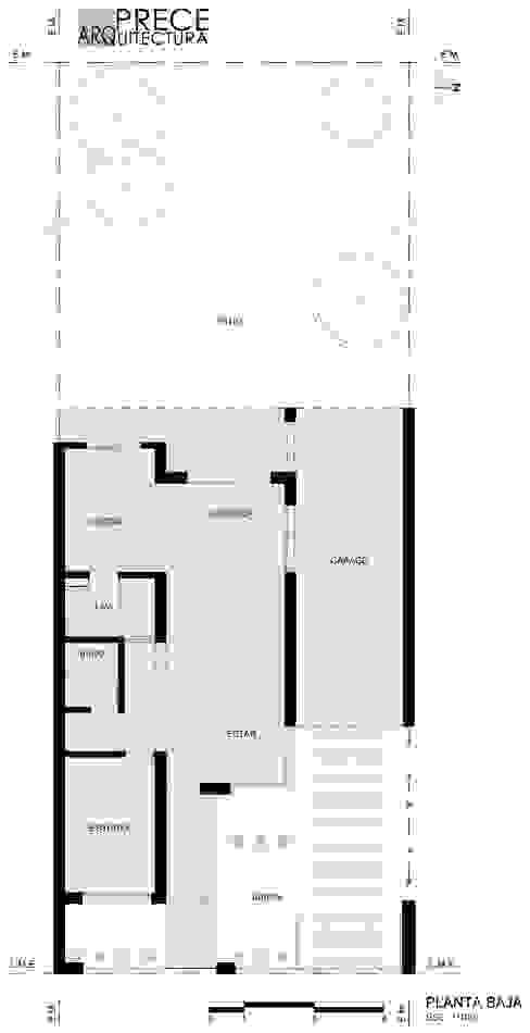 modern  by Prece Arquitectura, Modern