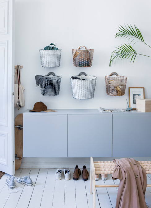 Organize your hallway with Korbo : scandinavian  by Korbo, Scandinavian Iron/Steel