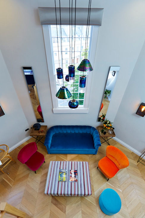 Bath Interior Design Project and Showpiece :  Living room by Etons of Bath,
