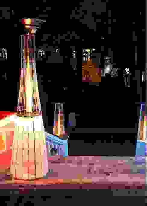 Luxus Terrassen Heizstrahler Lightfire Dolcevita von Italkero Moderner Balkon, Veranda & Terrasse von RF Design GmbH Modern
