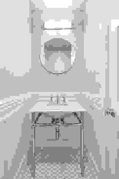 Powder Room Modern Bathroom by Clean Design Modern