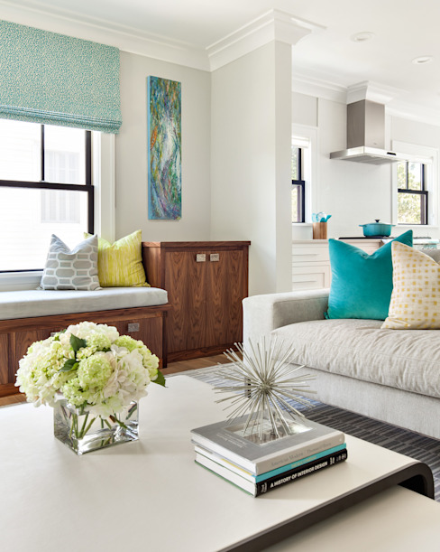 Living room by Clean Design, Modern