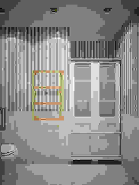 حمام تنفيذ Студия дизайна интерьера Маши Марченко, كلاسيكي