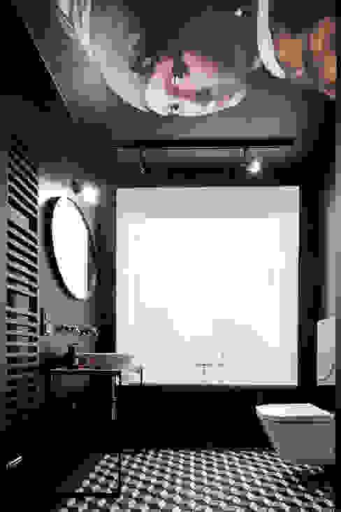 Daniel Apartment Minimalist style bathroom by BLACKHAUS Minimalist Stone