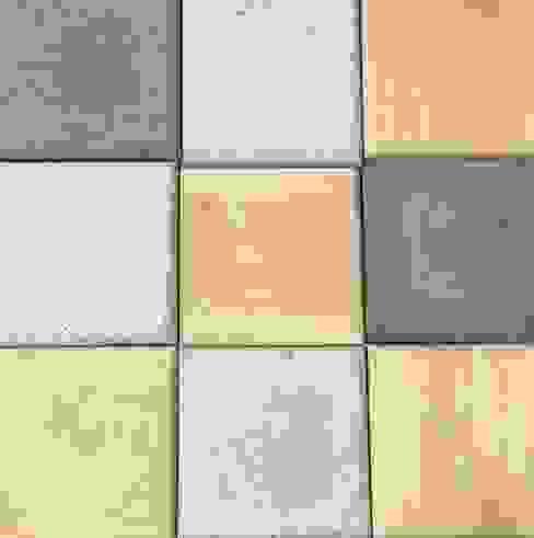 Beton i drewno elementy 3D: styl , w kategorii  zaprojektowany przez Bettoni,Nowoczesny Drewno O efekcie drewna