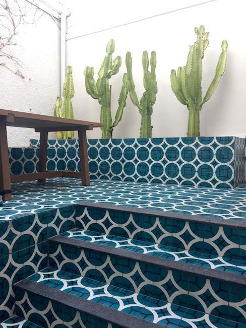The White House Etienne Hanekom Interiors Patios Turquoise