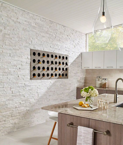 Modern kitchen by Alsancak Mermer Modern Marble