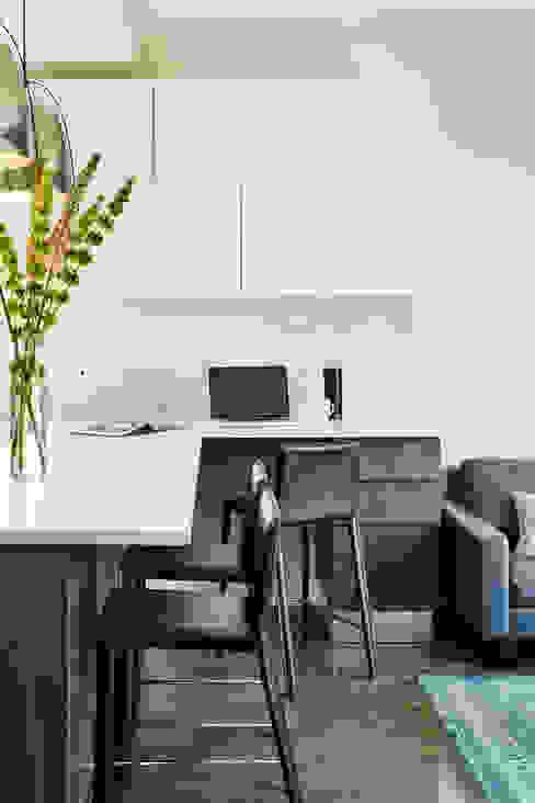 Carroll Street Modern Study Room and Home Office by M Monroe Design Modern