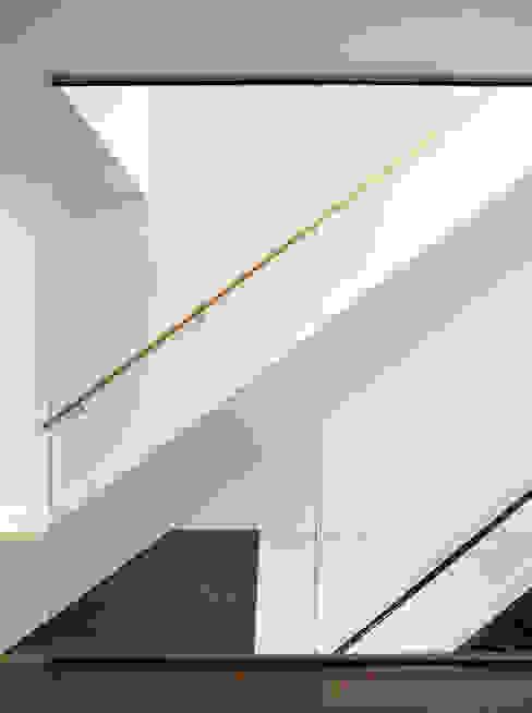 Carroll Street Minimalist corridor, hallway & stairs by M Monroe Design Minimalist