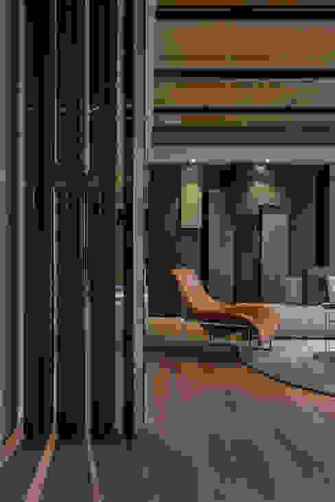 Contour of Life 廓│生活 亞洲風玄關、階梯與走廊 根據 CJ INTERIOR 長景國際設計 日式風、東方風