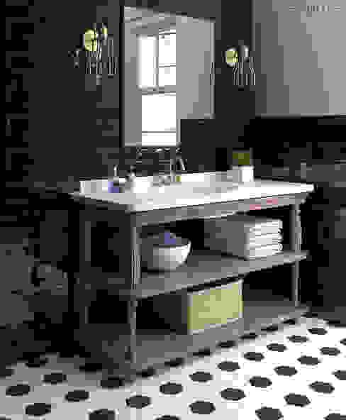 Equipe Ceramicas Modern bathroom Ceramic Black