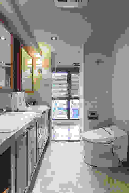 大晴設計 - 微莊園 大晴設計有限公司 Country style bathrooms
