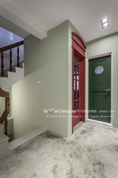 Ventanas de estilo  de 大不列顛空間感室內裝修設計, Asiático