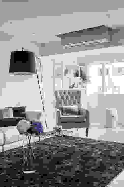 潤澤明亮設計事務所 Scandinavian style living room