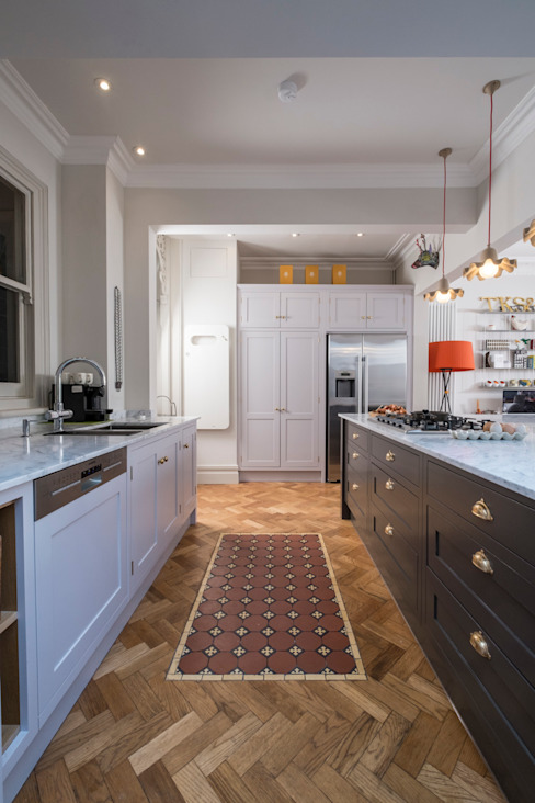 designer cool:  Kitchen by Chalkhouse Interiors,