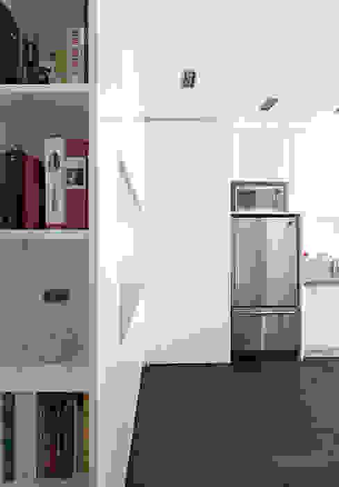 Custom Hidden Door to basement Modern kitchen by STUDIO Z Modern
