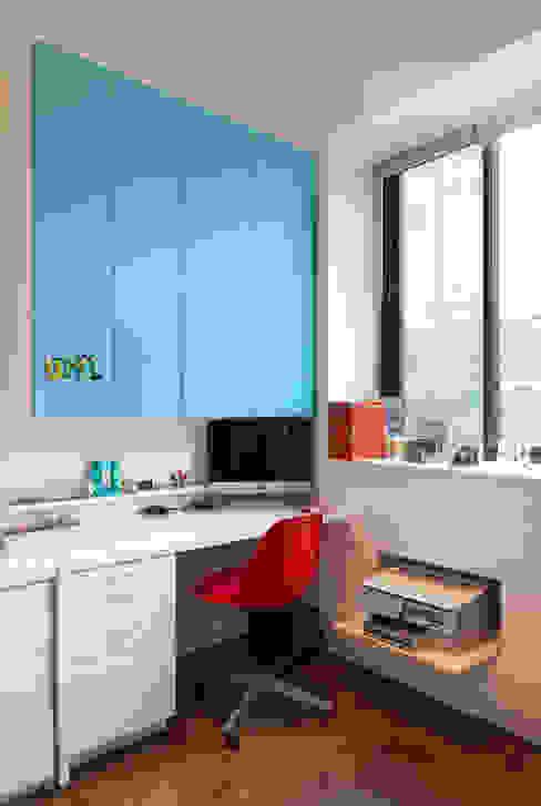 Bento Box Loft, Koko Architecture + Design Koko Architecture + Design Modern study/office Blue