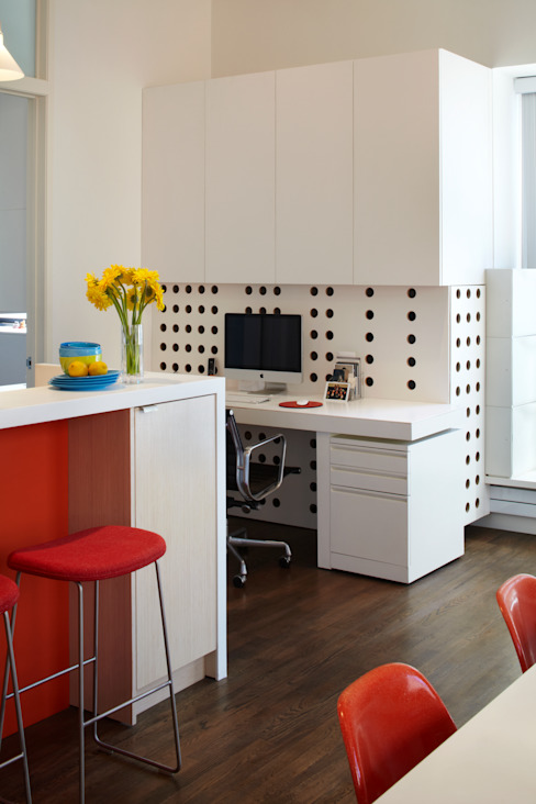 Bento Box Loft, Koko Architecture + Design Modern Study Room and Home Office by Koko Architecture + Design Modern