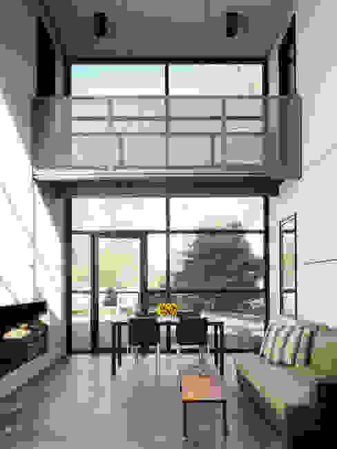 Dangle Byrd House, Koko Architecture + Design Modern Corridor, Hallway and Staircase by Koko Architecture + Design Modern