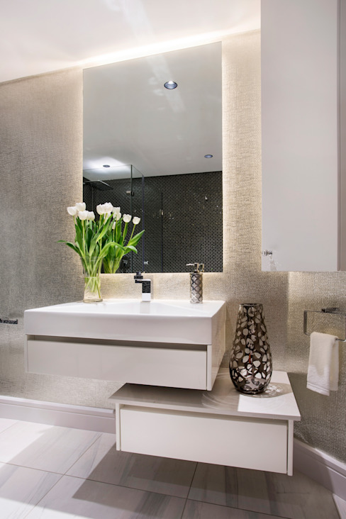 FRANCOIS MARAIS ARCHITECTS 現代浴室設計點子、靈感&圖片