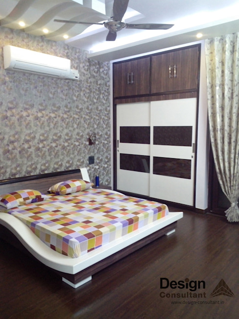 Master Bedroom Modern style bedroom by homify Modern Wood Wood effect