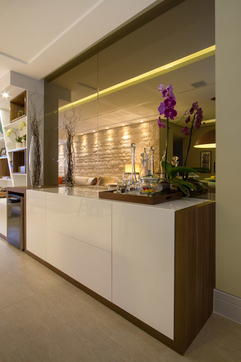 Apartamento com personalidade em Maceió Al por Cris Nunes Arquiteta Clássico