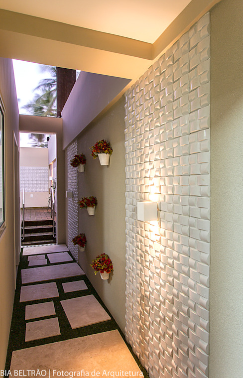 Apartamento no cond Barra Bali, Barra de São Miguel Al Jardins clássicos por Cris Nunes Arquiteta Clássico