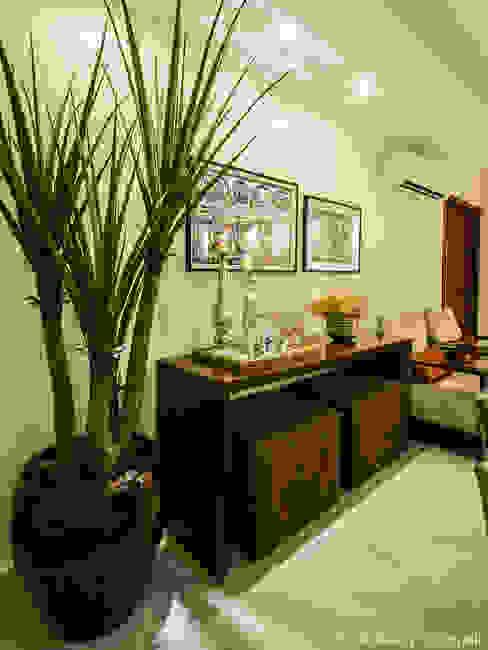 Apartamento, Maceió Al Salas de estar clássicas por Cris Nunes Arquiteta Clássico
