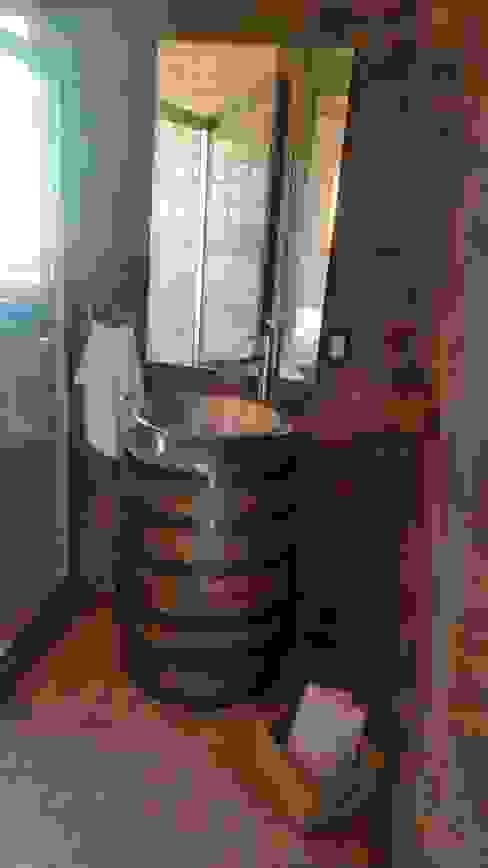Bathroom by Cervantesbueno arquitectos, Rustic Stone