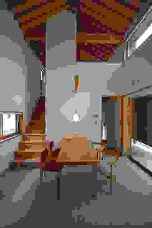 東広瀬の家 ミニマルデザインの ダイニング の 神谷建築スタジオ ミニマル