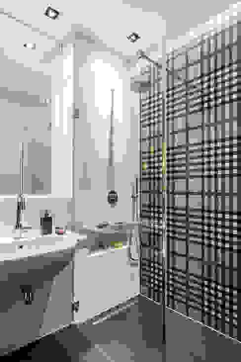 Ванные комнаты в . Автор – Anna Serafin Architektura Wnętrz,