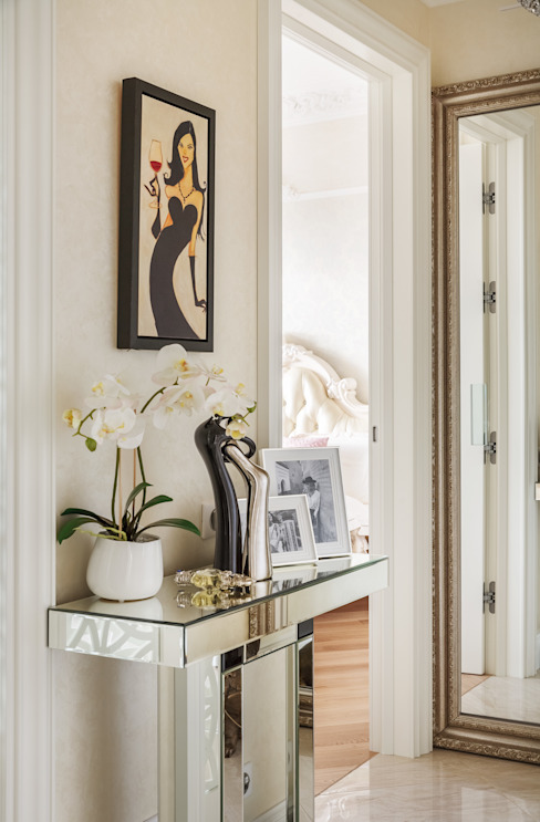الممر والمدخل تنفيذ design studio by Mariya Rubleva,