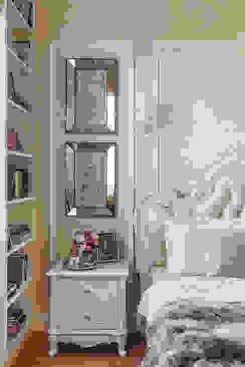 غرفة نوم تنفيذ design studio by Mariya Rubleva,