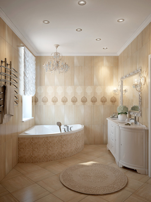 Classic style bathroom by Rubleva Design Classic