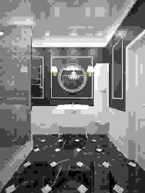 حمام تنفيذ design studio by Mariya Rubleva,