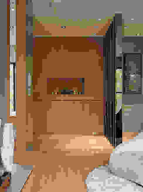 Couloir et hall d'entrée de style  par 形構設計 Morpho-Design