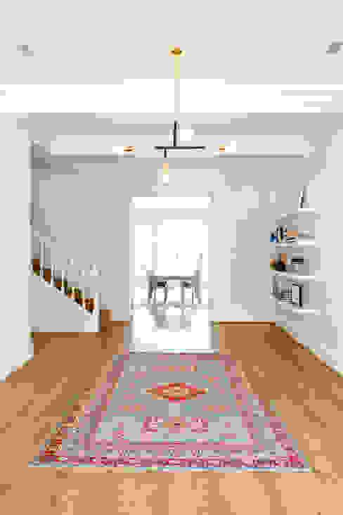 House Oranjezicht ATTIK Design Scandinavian style corridor, hallway& stairs