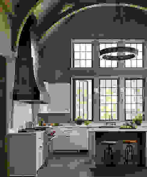 Cuisine de style  par Jeffrey Dungan Architects, Rustique Bois Effet bois