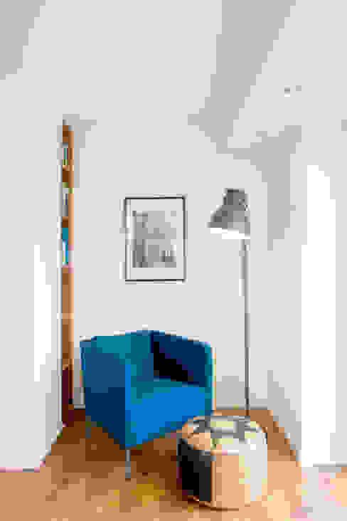 Woonkamer door Architektur Jansen, Minimalistisch