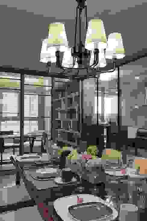 غرفة السفرة تنفيذ 大晴設計有限公司, حداثي
