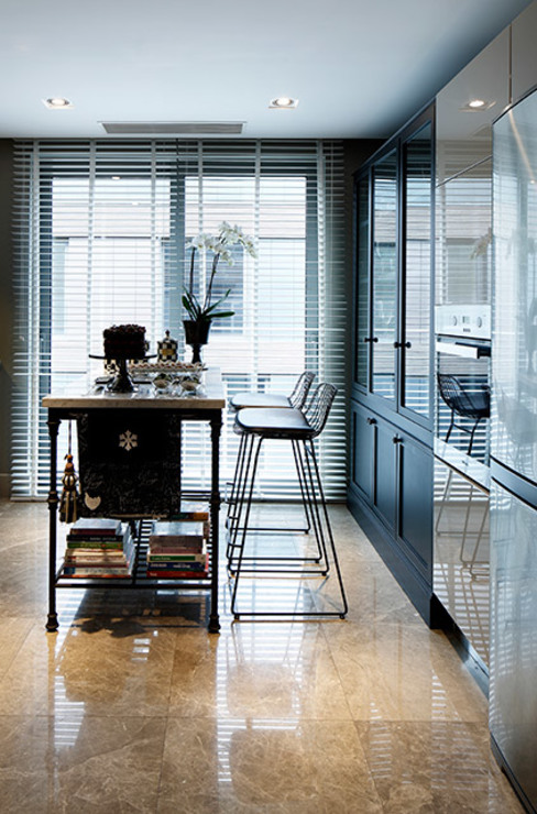 NEST Esra Kazmirci Mimarlik Modern Kitchen